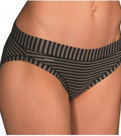Jockey Woman Comfort Classics Bamboo Stripe Bikini from DownUnderWear