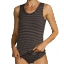 Jockey Woman Comfort Classics Bamboo Stripe Singlet from DownUnderWear
