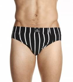 Jockey Man Sports Stripe Brief from DownUnderWear
