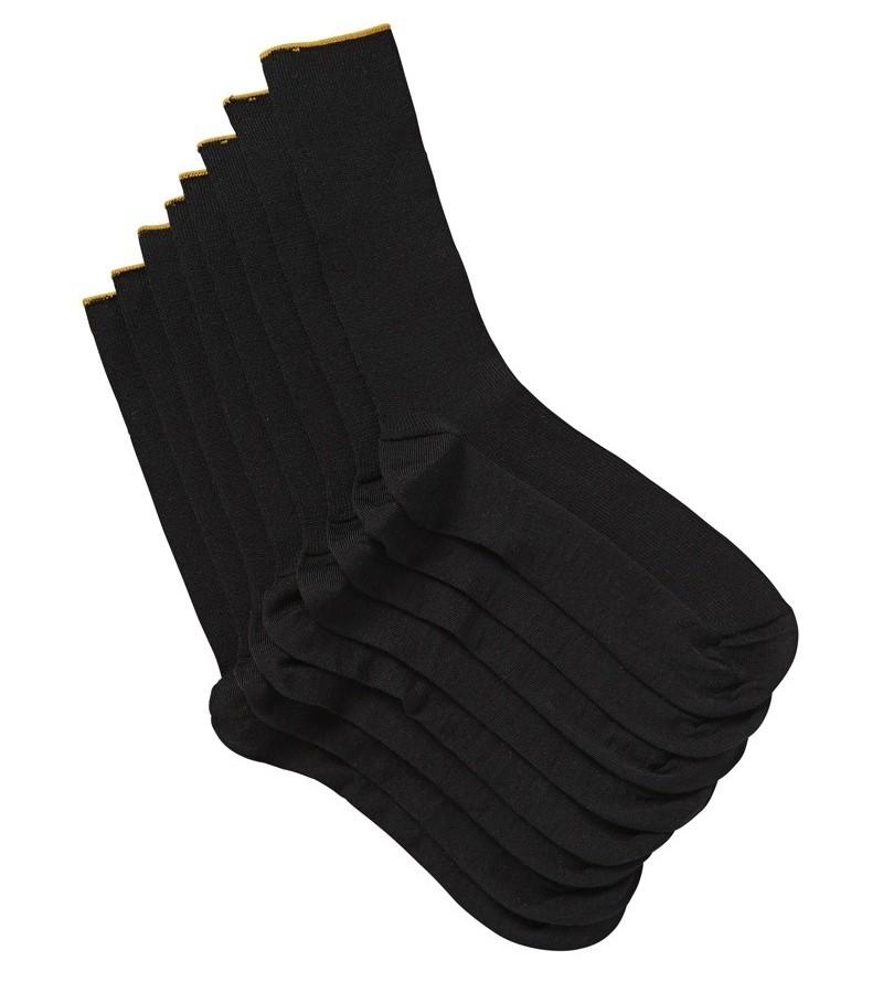 Jockey Man Gold Top Rib Wool 4pk Socks from DownUnderWear