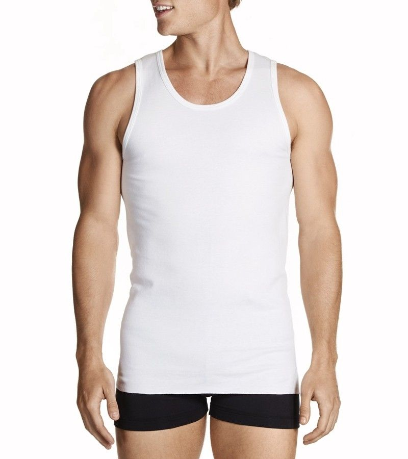 Jockey Man Athletic Singlet 2pk from DownUnderWear