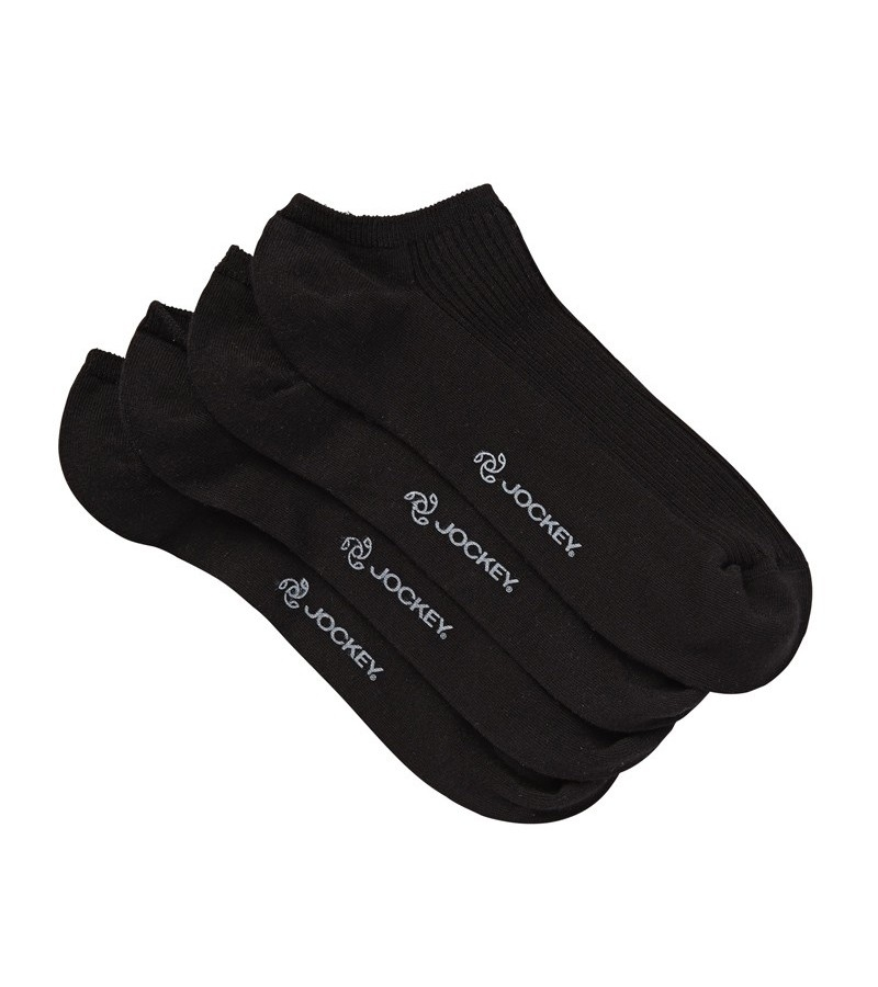 Jockey Woman Ribbed Liner 2pk Socks from DownUnderWear