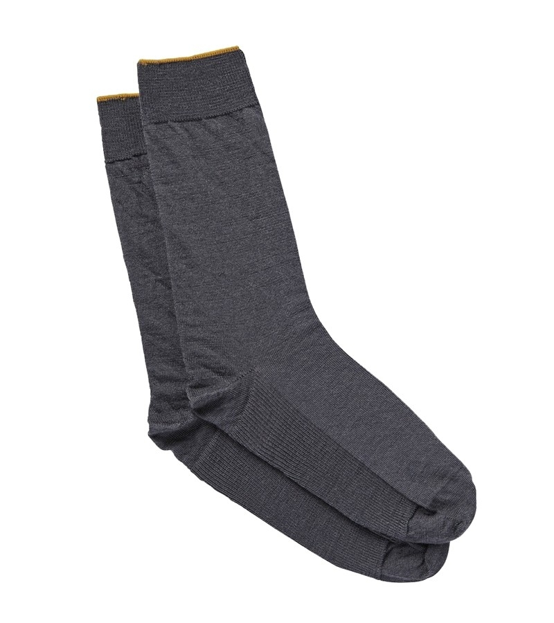 Jockey Man Gold Top Plain Wool Socks