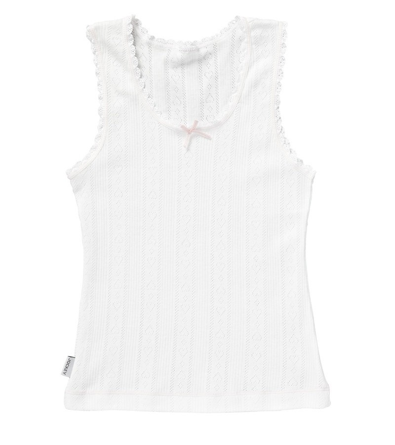 Jockey Kids Girls Sweetheart Cotton Singlet from DownUnderWear