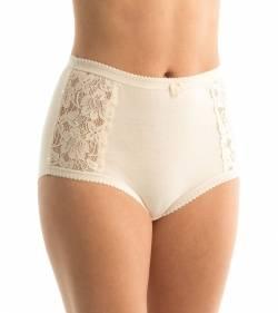 Triumph Cotton & Lace Full Brief from DownUnderWear