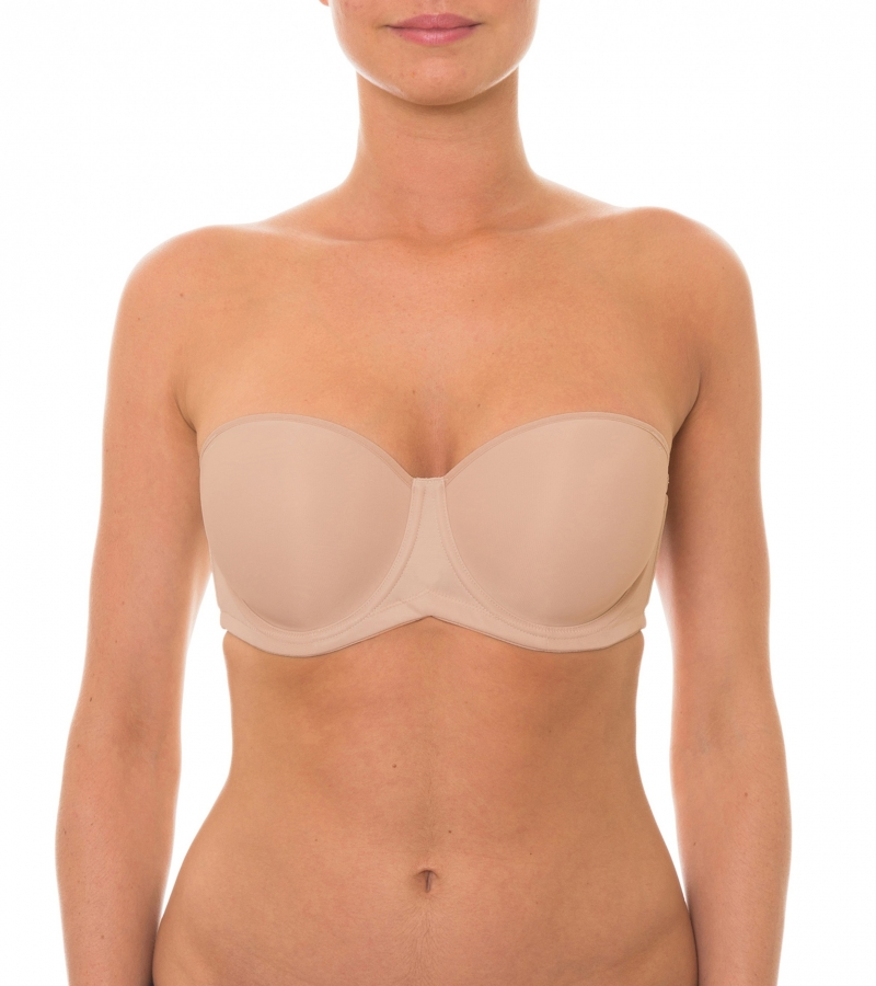 Triumph Beautiful Silhouette Strapless Bra from DownUnderWear